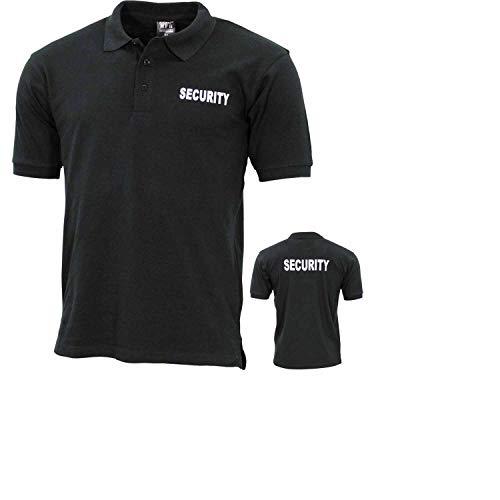 ProCompany Poloshirt, schwarz, Security, Bedruckt - XXL