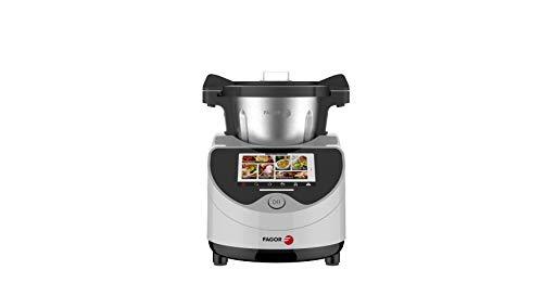 Robot de cocina FAMILYCOOK. Más de 120 recetas preinstalada