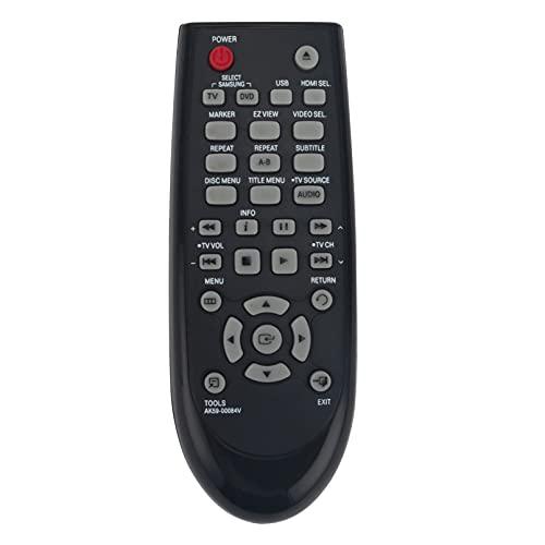 AK59-00084V Ersatz Fernbedienung - VINABTY AK59 00084V Fernbedienung für Samsung AK5900084V DVD Players DVD-C550 DVD-D530 Remote Controller