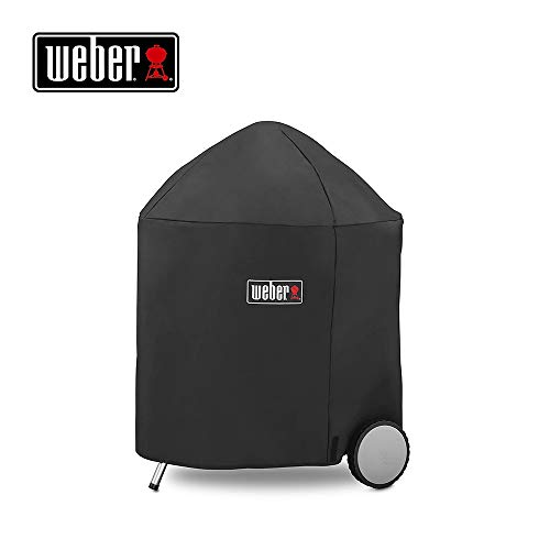 Weber 7153 Grill Cover with Storage Bag for Weber Charcoal Grill, 26 Inch