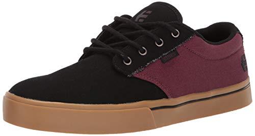 Etnies Herren Jameson 2 ECO Skateboardschuhe, Schwarz (Black/Red/Gum 598), 48 EU