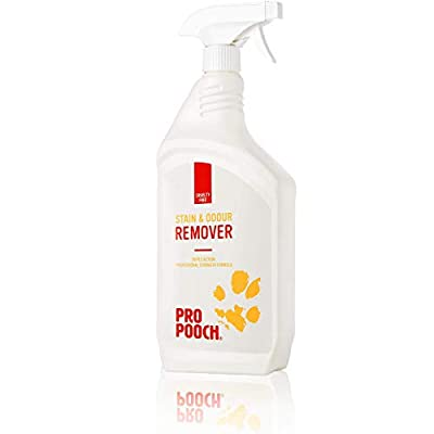 Urine Stain & Odour Remover (1 Litre) | Professional Strength Cleaner | Breaks Down & Removes Urine Smell, Faeces and Vomit | Neutralise & Eliminate Cat and Dog Odours Instantly