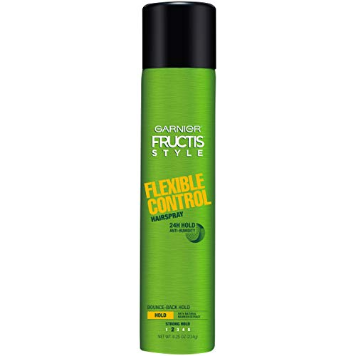 Garnier Fructis Style Flexible Control Anti-Humidity Hairspray, Strong Flexible Hold, 8.25 Ounce