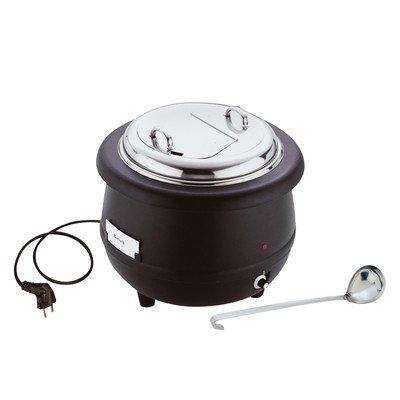 APS 11912 Edelstahldeckel für elektrischen Suppenwärmer (11910)