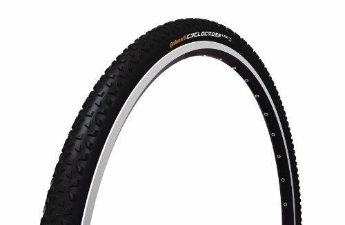 Continental Cross Reifen Cyclocross Race, black-black skin foldable, 700 x 35C, 100251
