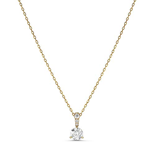 SWAROVSKI Solitaire Pendant Necklace One Size White