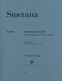 Aus meinem Leben (Quartett 1 e-moll) - arrangiert für Streicher - Quartett [Noten / Sheetmusic] Komponist: Smetana Bedrich