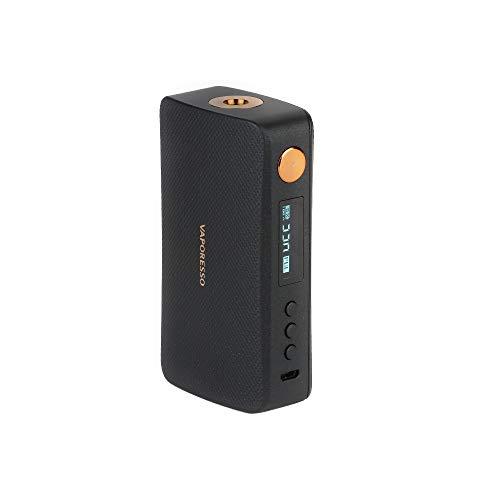 E Cigarette Vaporesso GEN 220W TC Box MOD con 0.91 'Pantalla OLED Power Modo ECO Modo DIY sin nicotina (Negro)