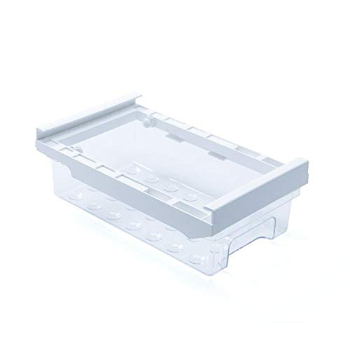 Cajón de huevos para frigorífico, organizador, contenedor de huevos, huevera de una sola capa, transparente