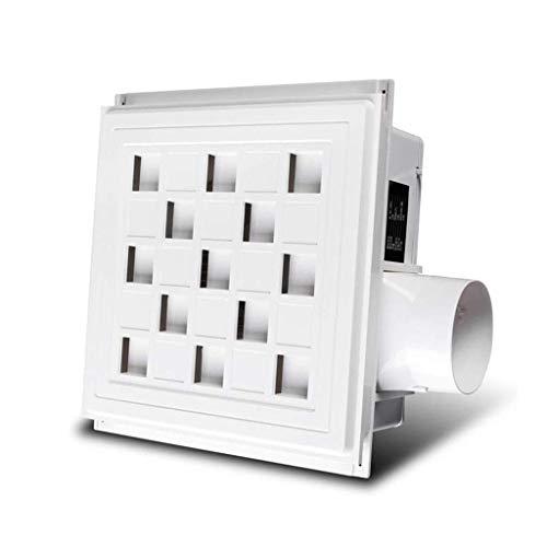 Ventilador extractor de baño, extractor de cocina, ventilador de techo integrado de techo, ventilador, ultrafino, calma, alta potencia, cocina / aseo, potente (caudal.
