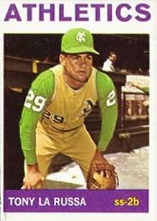 1964 Topps Regular (Baseball) Card# 244 Tony LaRussa of the Kansas City Athletics VGX Condition