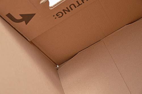 BB-Verpackungen Bücherkartons, 25 Stück, Basic 400 x 330 x 340 mm Bücher Kiste Umzug Karton Box Transport Verpackung - 6