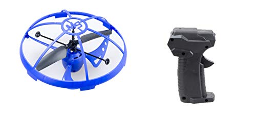 Mindscope Sky Lighter Micro UFO Blue Infrared Remote Control RC 3 Channel Rechargeable LED Light Up Drone