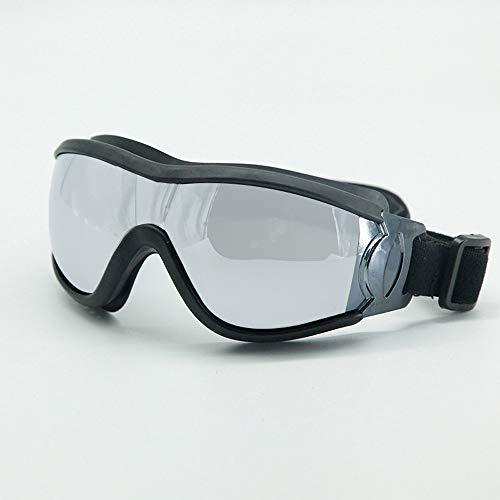 Hydd-veiligheidsbril, ademende en verstelbare hoofdband, geschikt voor skiën, bergbeklimmen, kamperen en andere activiteiten, geschikt voor kinderen. 14,5 x 6 cm.