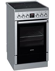 Gorenje EI57337AX - Cocina (Independiente, Acero inoxidable, Giratorio, 53L, 10500W, Eléctrico)