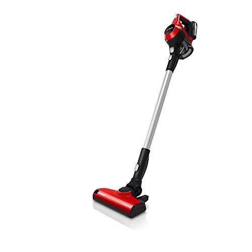 Bosch Unlimited Serie | 6 ProAnimal BBH32551 - Aspiradora sin cable, adecuada para mascotas, color rojo