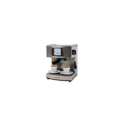Zelmer 13Z012 Máquina espresso 2.1L 2tazas Acero inoxidable - Cafetera (Máquina espresso, 2,1 L, 1050 W, Acero inoxidable)