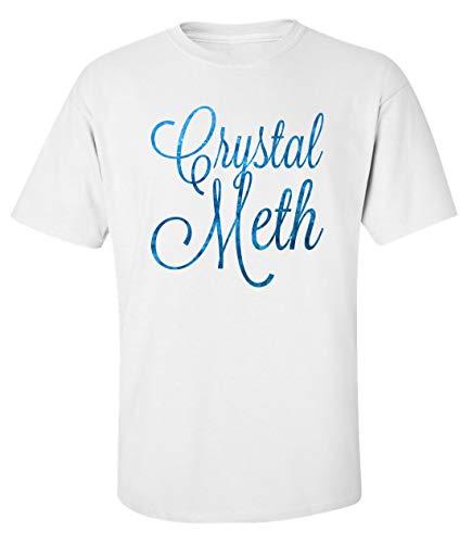 Herren Crystal Meth T-Shirt Weiß XXL
