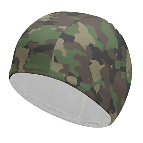 Gorras de natación unisex, resistentes y flexibles, para...