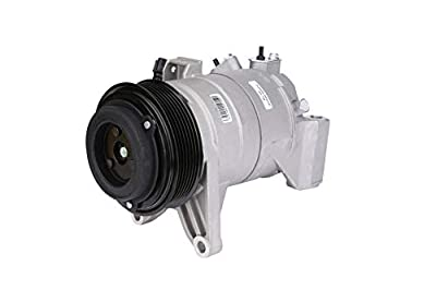 Replacement AC Compressor Air Conditioning - Compatible with Nissan Maxima and Nissan Murano 2008-2014 - Replaces 92600JP01C, 10000652-08, 09, 10, 11, 12, 13, 14 - HVAC Hot Cold Air