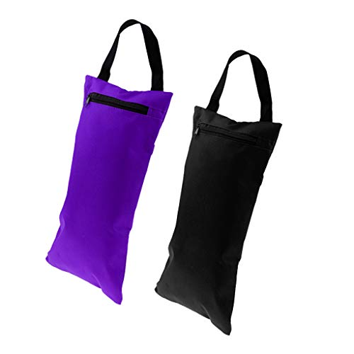 Hellery 2PCs 39cm Bolsa de Arena para Yoga Que Agrega Peso Y Soporte para Yoga Pilates Fitness