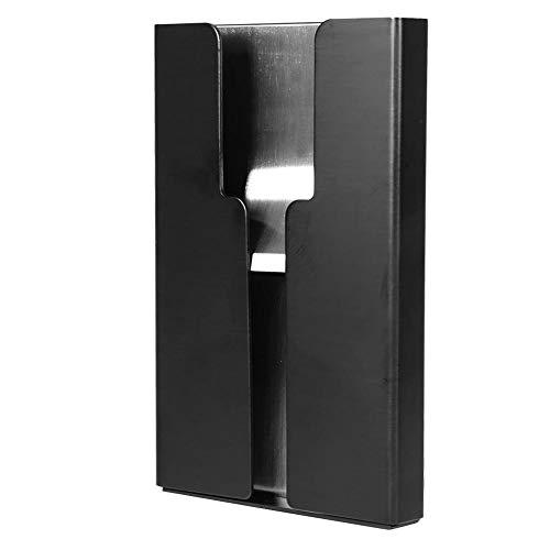 TOPINCN Kompakter Kartenhalter aus Aluminiumlegierung Brieftasche Box Case Storage Organizer für Kreditkarten