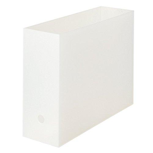 無印良品 ポリプロピレンファイルボックス・スタンダードタイプ・A4用 約幅10×奥行32×高さ24cm