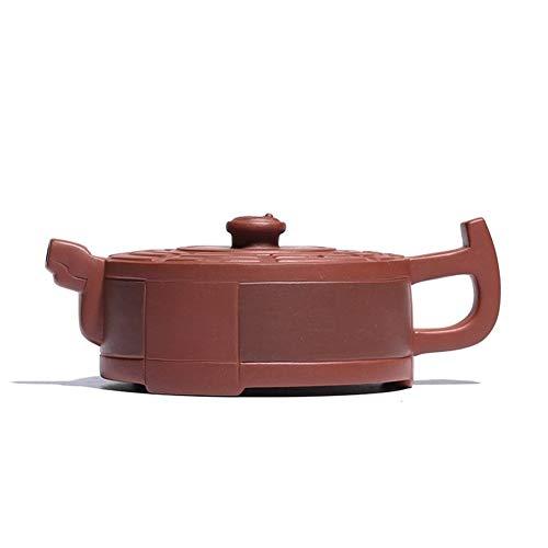 Tea Pot Yixing Teapot Teapot Hand-Tea cup Clear Cement Tai Chi Gossip Handmade Tea Maker Sand Pot (Color : Purple)