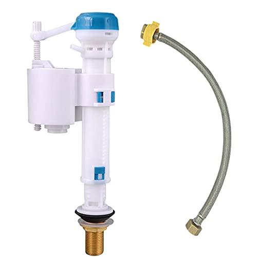 GFDFD Cisterna de Inodoro Entrada Inferior Entrada de Entrada Válvula de llenado de latón Reparación de latón Piezas de Inodoro Push botón de llenado Herramientas de baño