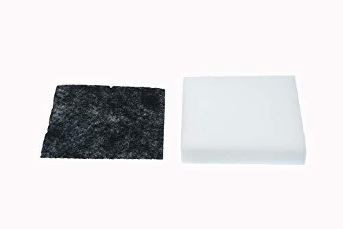 Abluftfilter + Schaumfilter, Filter-Set passend für Bosch Siemens Staubsauger 12011362 + 12011363/750441 + 750442
