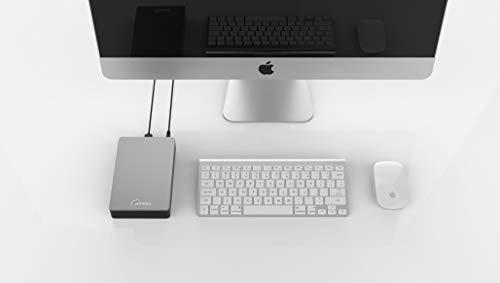 Sonnics - Disco Duro Externo para Ordenador de sobremesa (USB 3.0, Compatible con Windows PC, Mac, Smart TV, Xbox One y PS4) Gris 4 TB miniatura
