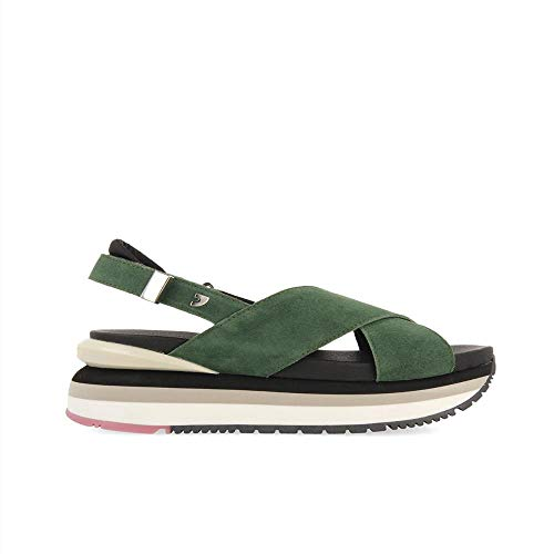 Gioseppo Cayce, Zapatillas Mujer, Verde, 38 EU
