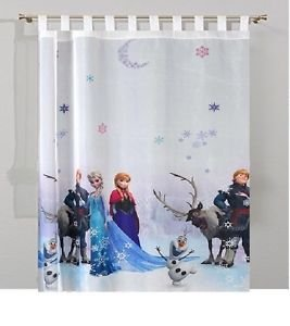 sophia the first Frozen Voile Net Curtain 150 cm Width x 155 cm Drop
