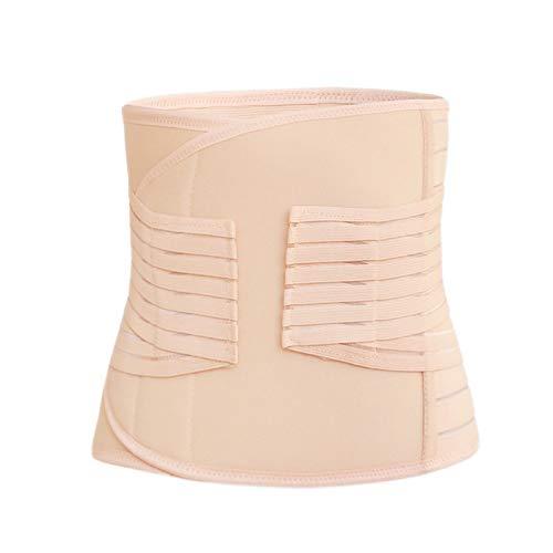DLHYDSF Postpartum Abdominale Riem Ademende Taille Shapewear Recovery Buik/buik/bekken 3in1 Body Corset Slim Body Shaper Riem