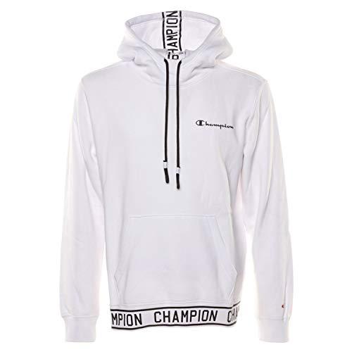CHAMPION Herren Hoodie weiß XL