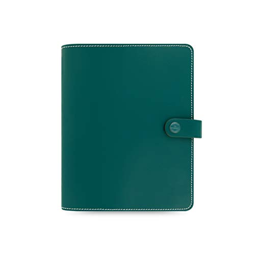 Notebooks Journal A5 Notebooks Leather Binder Notepads Refillable Diary Book 6 Ring Ruled Journal Travel Journals Office & School Supplies (Color : GreenA)