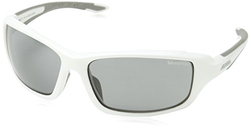 ALPINA Sonnenbrille Performance Callum VL Sportbrille, White-Grey, One Size