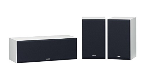 Yamaha NS-P350 - Sistema de Altavoces, Color Negro-Blanco