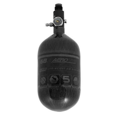 HK Army Aerolite Carbon Fiber HPA Paintball Tank Air System - 68ci / 4500psi (Smoke)