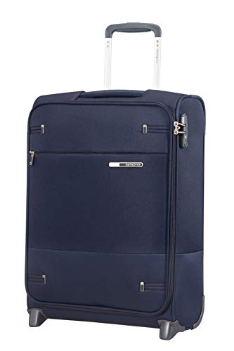 Samsonite Base Boost Upright S Bagaglio a Mano, 55 cm, 41 L, Blu (Navy Blue)