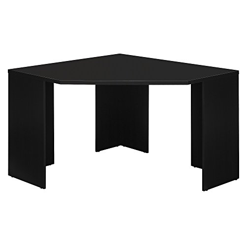 Stockport Collection Simple Black Corner Desk