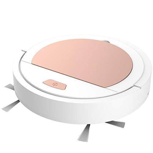 Aspirador Inteligente De Robot De Piso Robot De Barrido En Seco De Succión 1800Pa Para Oficina En Casa,Blanco