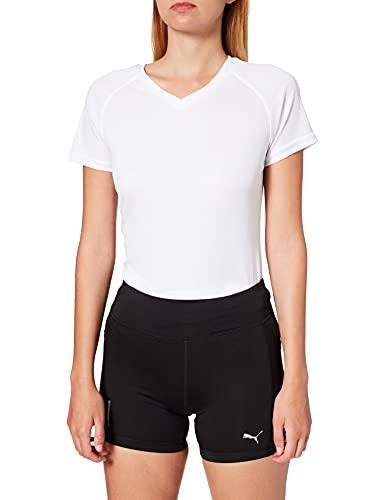 PUMA Ignite Short Tight Mallas Deporte, Mujer, Black, L