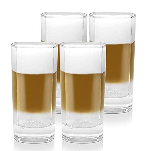 2x Jura Latte Macchiato Gläser gross 2er für Ihren Latte Kaffee