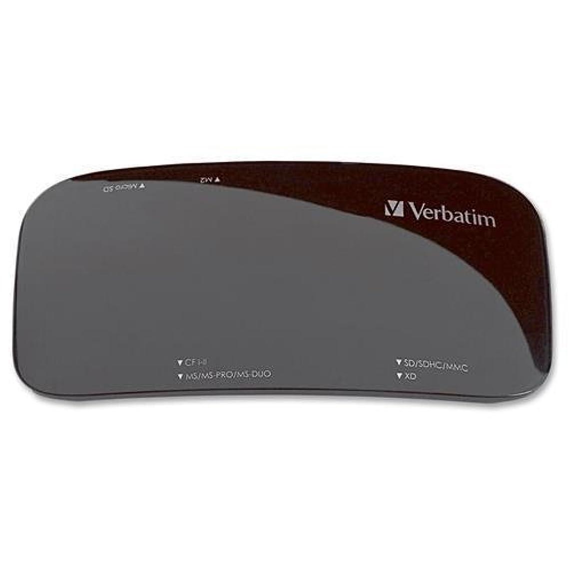 内訳機械的に鯨Verbatim 15?- In - 1?USB 2.0フラッシュリーダー?–?15?- In - 1?–?CFタイプI、CFタイプII、マイクロドライブ、メモリスティックDuo、メモリスティック、Pro、メモリスティックPRO Duo MagicGateメモリスティックDuo SmartMedia、安全、安全なデジタル( SD )カード、デジタル高容量SDHC、MiniSDカード、。。。?–?USB 2.0?–?97705
