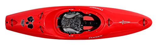 "Dagger Phantom   Sit Inside Whitewater Kayak   Creeker Short Boat Kayak   8' 11""   Red"