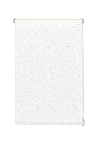 Gardinia EASYFIX Rollo Dekor 668 Jahreszeiten weiß/weiß 60 x 150 cm