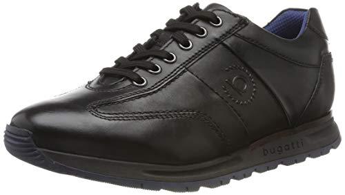 bugatti Herren 311819021000 Sneaker, Schwarz, 43 EU