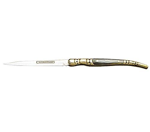 Cudeman Spanische Form Klingenlänge cm: 8 Klappmesser, Mehrfarbig, 8 cm