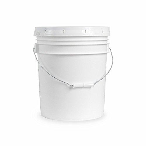 5 gallon Food Grade White Plastic Bucket...